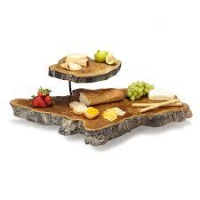 unique serving platters tiered teak root serving platter teak wood teak and trays
