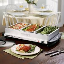 thanksgiving serving dishes amazon com waring pro bfs50b professional buffet server and