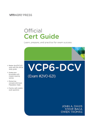 buy vcp6 dcv official cert guide exam 2v0 621 book online at