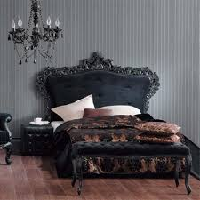Decorating Bedroom With Black Furniture Gothic Style Bed Frame Jpg 983 983 Dream House Pinterest