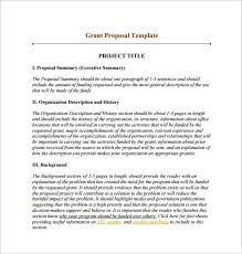 funding proposal template funding proposal template 11 free word