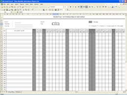 Spreadsheets Templates Weekly Attendance Sheet Template Excel