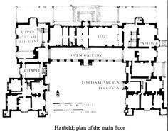 medieval castle floor plans photo hatfield house plan images cotswold cottage home plans