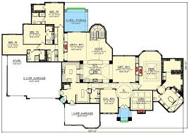 luxury ranch floor plans luxury 4 tuscan ranch house plan 89978ah architectural designs