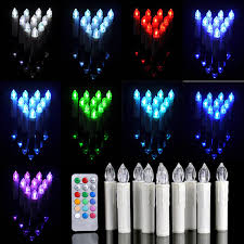 does thanksgiving day change 10pcs multi color taper flameless candles leds fairy lights