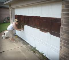 Design Ideas For Garage Door Makeover Door Made To Diy Faux Wooden Garage Door Design With Garage