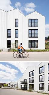 Modern Row Houses - house exterior colors 11 modern white houses from around the
