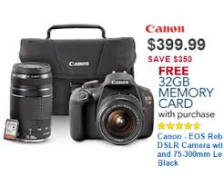 black friday deals on cameras 399 99 canon eos rebel t5 dslr camera with 18 55mm and 75 300mm