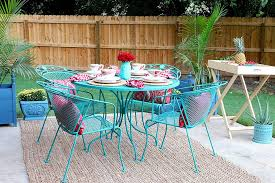 Outdoor Furniture Small Space 14 Best Outdoor Decorating Ideas For Small Spaces
