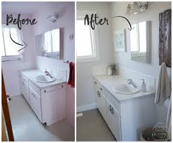 Bathroom Remodel Ideas On A Budget Remodelaholic Diy Bathroom Remodel On A Budget And Thoughts On