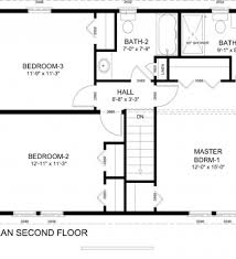 Colonial Style Floor Plans by Colonial House Plans Cobleskill 10 356 Associated Designs