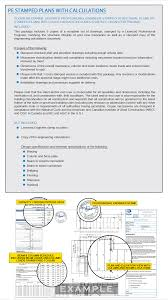 mezzanine engineering package 3 pe stamped plans with