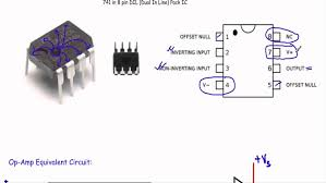 non inverting op amp gain wiring diagram components