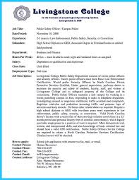 Security Officer Resume Perfect Correctional Officer Resume To Get Noticed