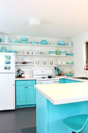 Turquoise Kitchen Accessories by Lakehouse Tour Dans Le Lakehouse