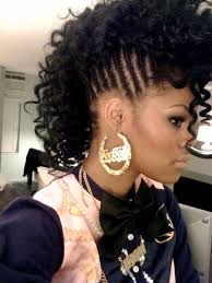 braided mohawk hairstyles for black girls black hairstyles