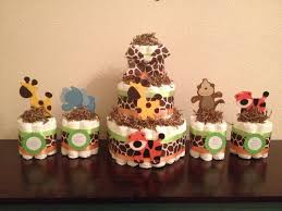 Safari Baby Shower Centerpiece by Best 25 Safari Diaper Cakes Ideas On Pinterest Jungle Diaper