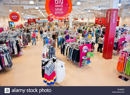 Shopping In Germany Shopping Inside A Discount Retail Fashion Shop Leipzig