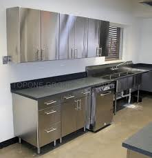 stainless steel base cabinets lovely commercial stainless steel kitchen cabinets design ideas