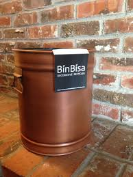 binbisa supply co decorative recycling bins for every room