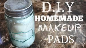 diy homemade makeup remover pads youtube