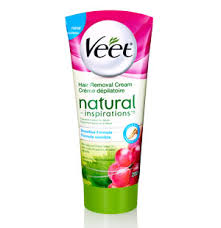 hair removal with natural products try veet natural inspirations