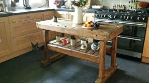 commercial kitchen islands commercial kitchen islands rustic butcher block workbench