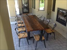 kitchen awesome rustic distressed wood dining table rustic