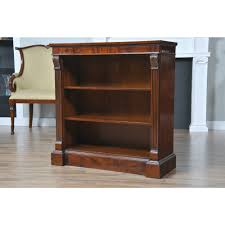 Narrow Mahogany Bookcase Small Penhurst Mahogany Bookcase Niagara Furniture Narrow Bookcase