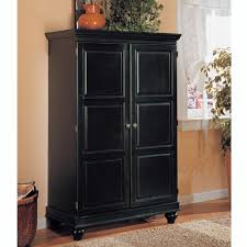 Sauder Edge Water Computer Armoire by Computer Armoire Black Type Yvotube Com