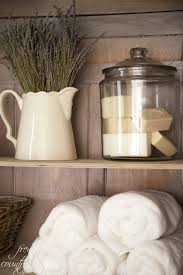 french country cottage how to style shelves love the big jar with