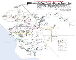 Metro Rail Map by Los Angeles Transportation News U0026 Discussion Page 168