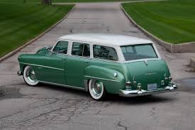 green station wagon almost one of a kind 1952 dodge estate wagon rod network