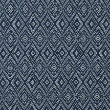 Roman Upholstery Dark Blue Ikat Upholstery Fabric On Sale Reversible Blue