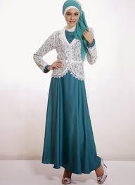 model baju model baju pesta muslim dengan blazer brokat contohbajumuslim