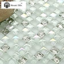 Best Backsplash Images On Pinterest Glass Tiles Backsplash - Sea glass backsplash