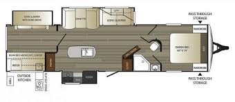 Keystone Rv Floor Plans New Or Used Keystone Outback 332fk Rvs For Sale Rvtrader Com