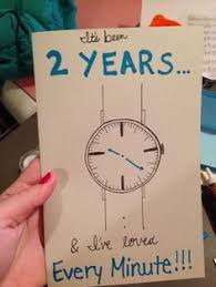 2 year anniversary ideas him two year anniversary gift for boyfriend home made diy gifts