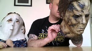 old people halloween masks michael myers halloween rob zombie mask youtube