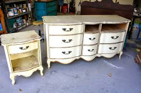 Used White French Provincial Bedroom Furniture Makemeprettyagain French Provincial Make Over