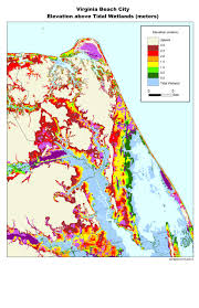 Map Of Northern Virginia More Sea Level Rise Maps For Virginia