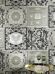 the versacehome new wallpaper collection takes glamour and