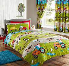 Toddler Comforter Bedroom Toddler Bed Bedspread Woodland Toddler Bedding Tractor