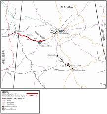 Csx Railroad Map Alabama Southern Railroad Abs Watco Companies