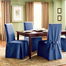 furniture wonderful kitchen dining chair slipcovers blue room