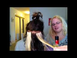 glued in hair extensions how to apply and remove hair extensions glue bonds