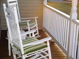 Wooden Rocking Chair Outdoor White Wooden Rocking Chair Outdoor