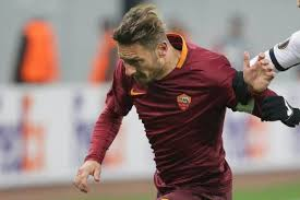 roma ladari europa league francesco totti disponible pour villareal revue