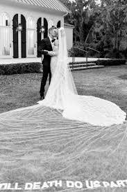 Image of hailey baldwin mariage