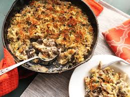 Cast Iron Cooking Cast Iron Cooking Crispy Baked Pasta With Mushrooms Sausage And